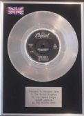 "THE BEACH BOYS  - 7"" Platinum Disc - SLOOP JOHN B"